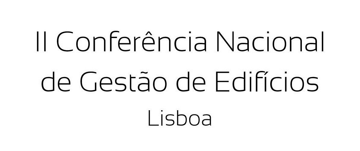 II Conferência Nacional de Gestão de Edifícios