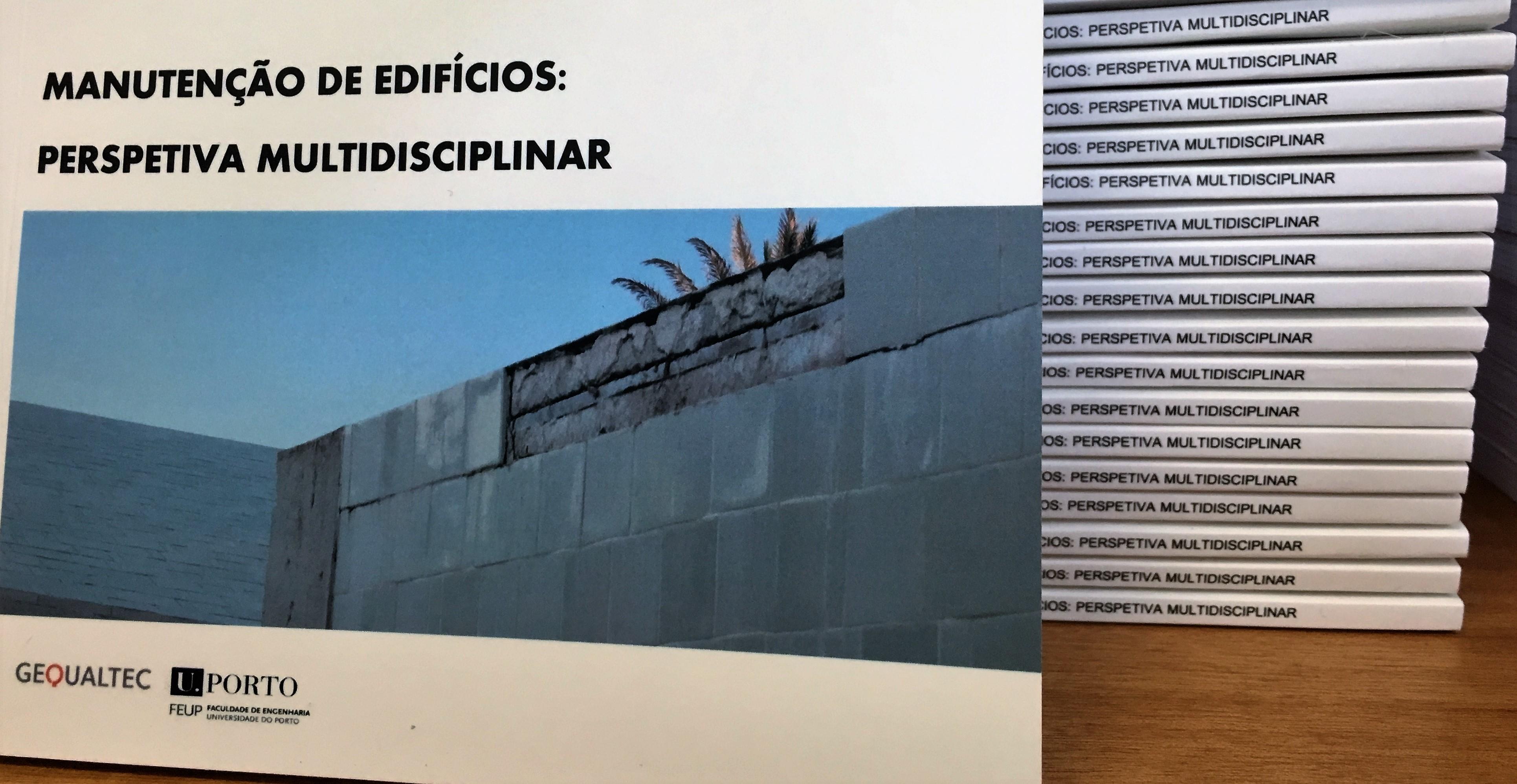 """Livro""""Manutenção de Edifícios: perspetiva multidisciplinar"""""""