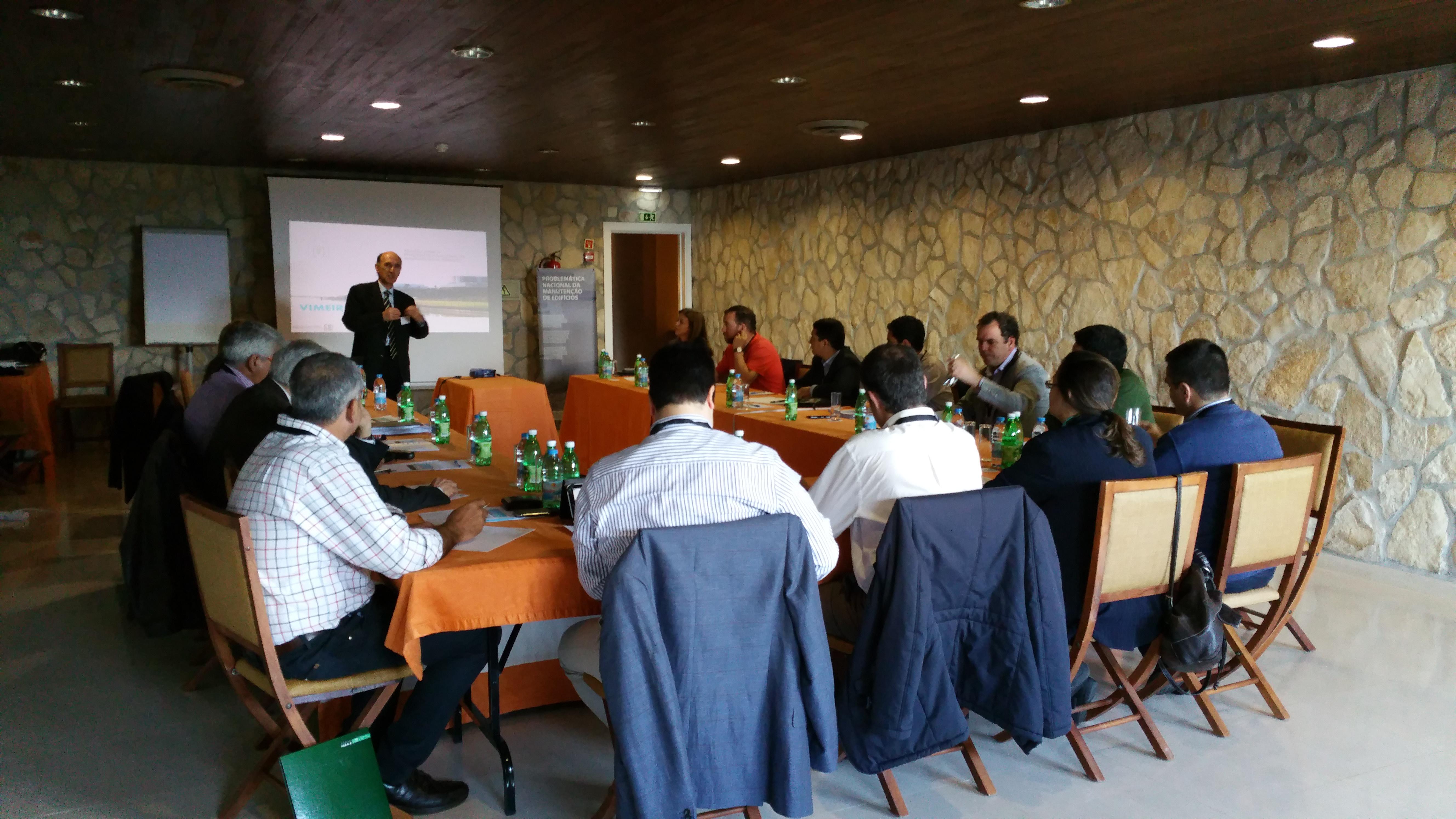 Reunião sobre a Problemática da Manutenção de Edifícios