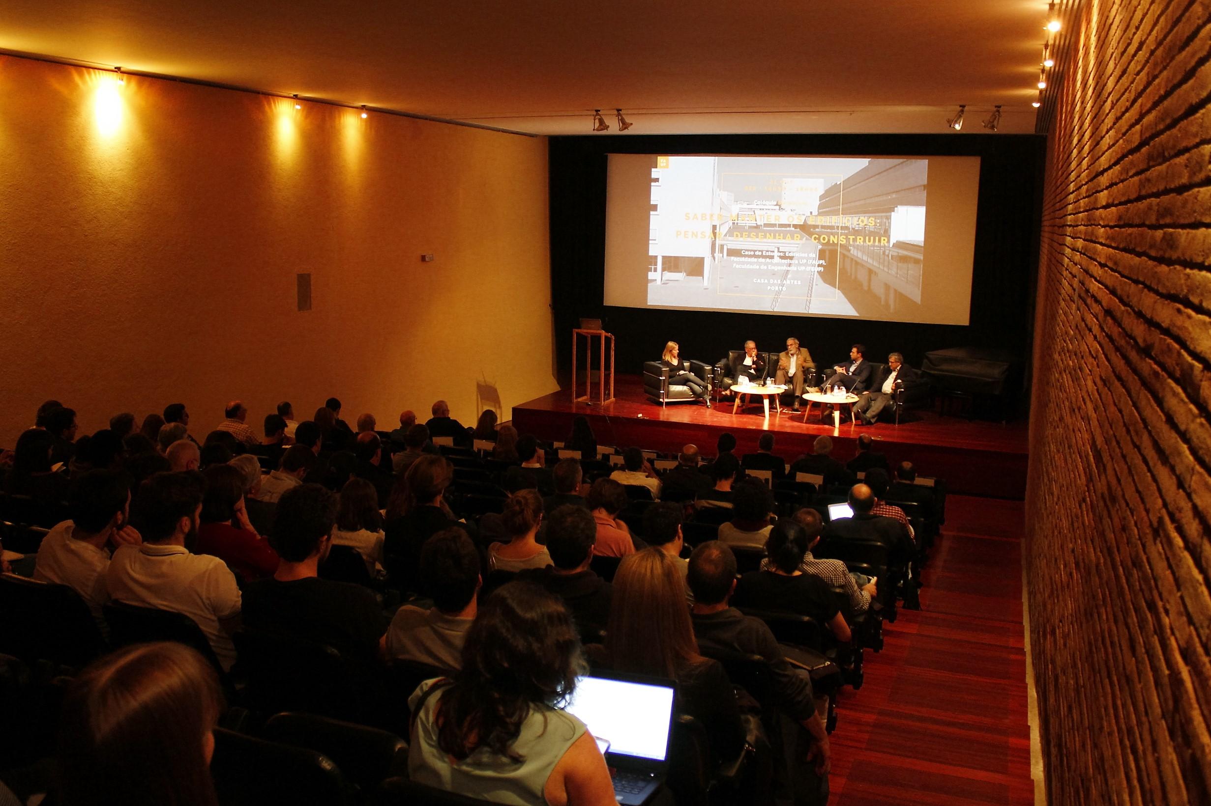 Colóquio: Saber manter os edifícios: Pensar, Desenhar, Construir